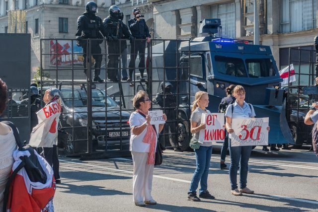 Belarusian Protests — Minsk, 30 August 2020