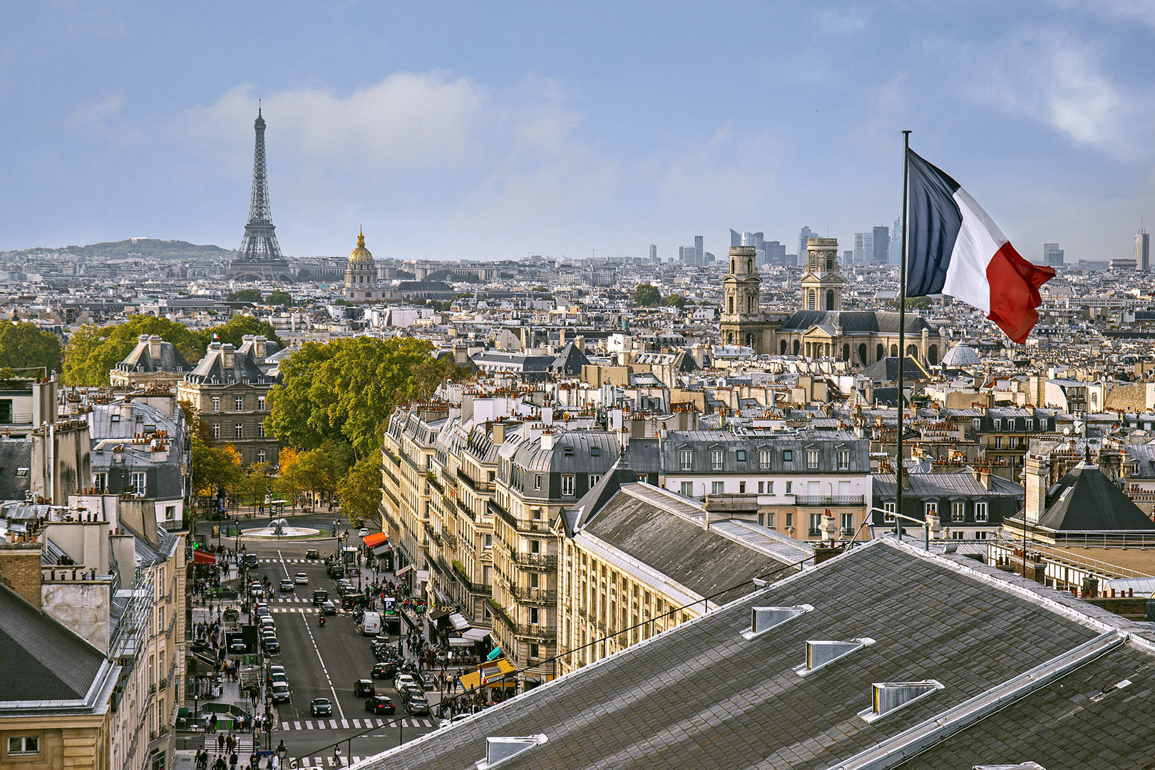 Paris From Top Pantheon Lille